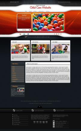 Honeycomb Child-care Website Template