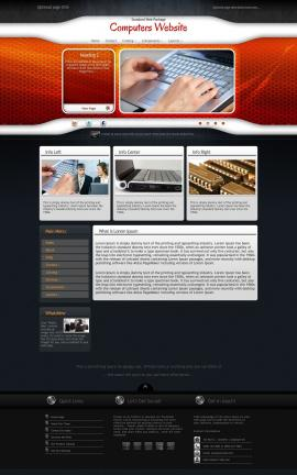 Honeycomb Computers Website Template