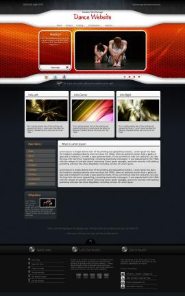 Honeycomb Dance Website Template