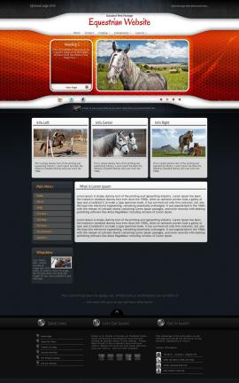 Honeycomb Equestrian Website Template