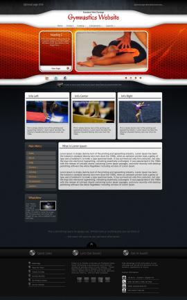 Honeycomb Gymnastics Website Template