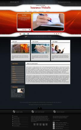 Honeycomb Insurance Website Template