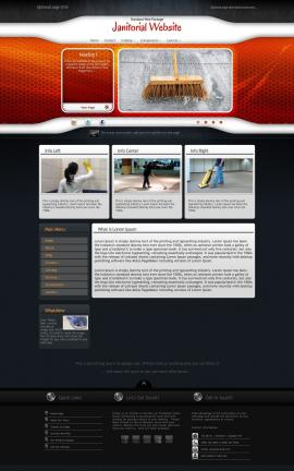 Honeycomb Janitorial Website Template
