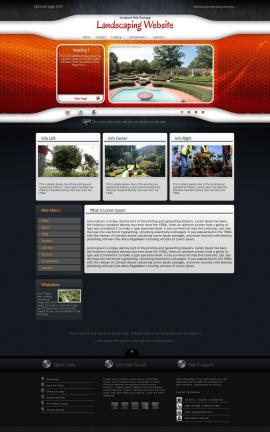 Honeycomb Landscaping Website Template