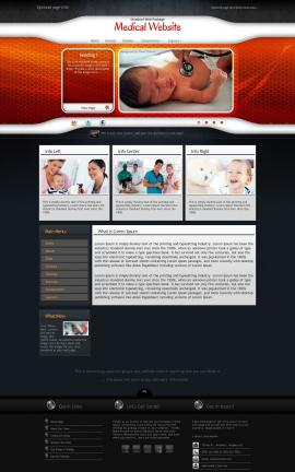 Honeycomb Medical Website Template