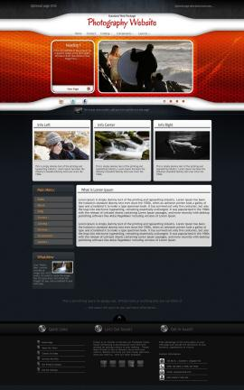 Honeycomb Photography Website Template