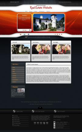 Honeycomb Real-estate Website Template