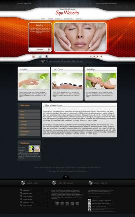 Honeycomb Spa Website Template
