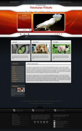 Honeycomb Veterinarian Website Template