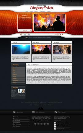 Honeycomb Videography Website Template