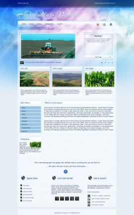 Eternal Agriculture Website Template