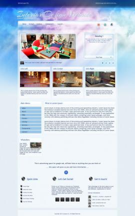 Eternal Interior-design Website Template