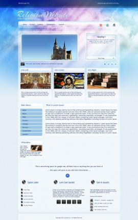 Eternal Religion Dreamweaver Template