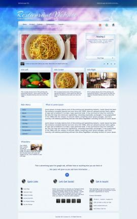 Eternal Restaurant Website Template