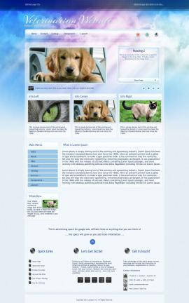 Eternal Veterinarian Website Template