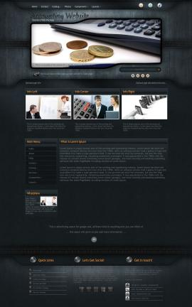 Precision Accounting Website Template