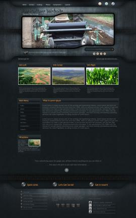 Precision Agriculture Website Template