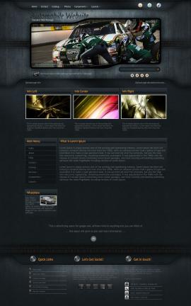 Precision Automobile Website Template