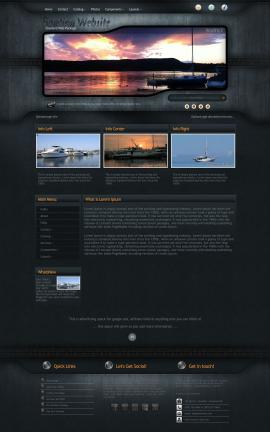 Precision Boating Website Template