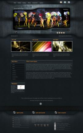 Precision Dance Website Template