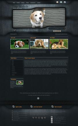 Precision Dogs Website Template