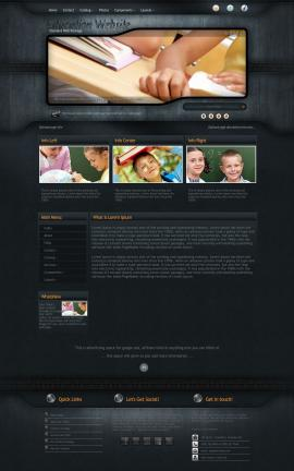 Precision Education Website Template