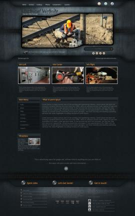 Precision Electrical Website Template