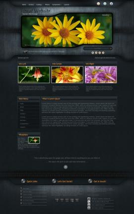 Precision Floral Website Template