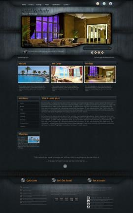 Precision Hotel Website Template