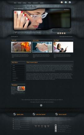 Precision Insurance Website Template
