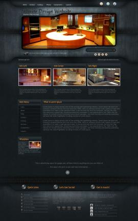 Precision Interior-design Website Template