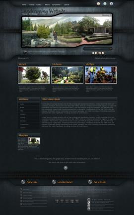 Precision Landscaping Website Template