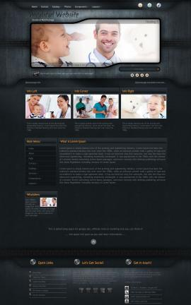 Precision Medical Website Template
