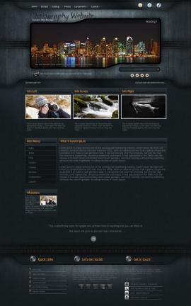 Precision Photography Website Template