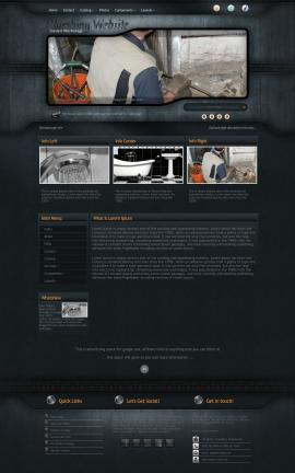 Precision Plumbing Website Template