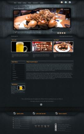 Precision Pub Website Template