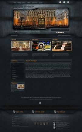 Precision Religion Website Template