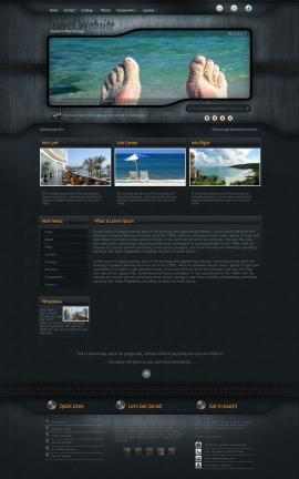 Precision Travel Website Template