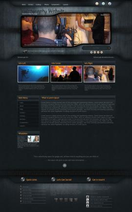 Precision Videography Website Template