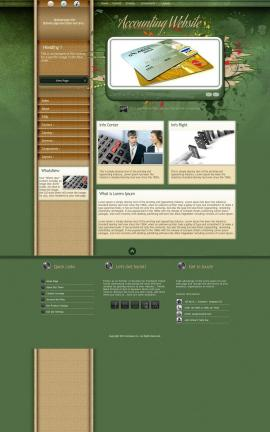 Fascinate Accounting Website Template