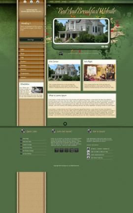 Fascinate Bed-and-breakfast Website Template