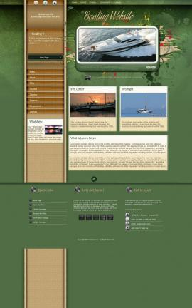 Fascinate Boating Website Template