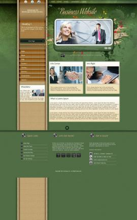 Fascinate Business Website Template