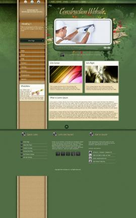 Fascinate Construction Website Template