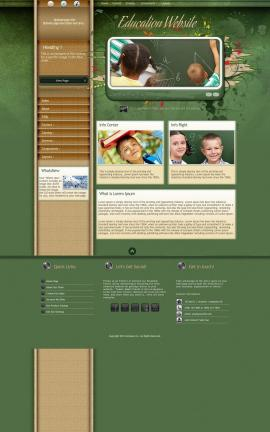 Fascinate Education Website Template