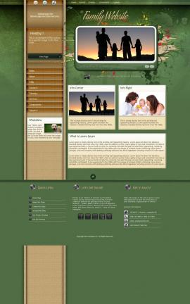 Fascinate Family Website Template