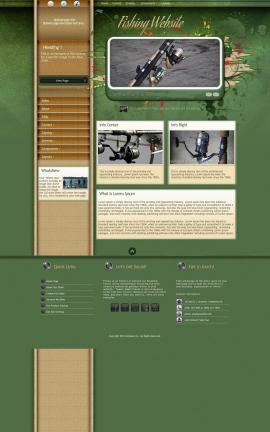 Fascinate Fishing Website Template