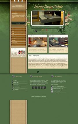 Fascinate Interior-design Website Template