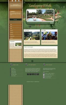 Fascinate Landscaping Website Template