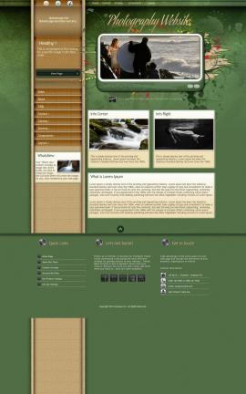 Fascinate Photography Website Template